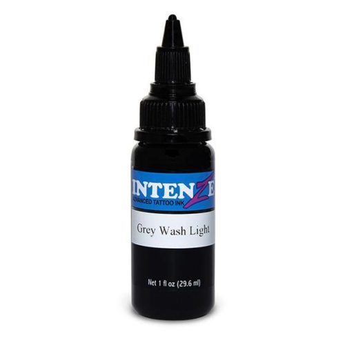 Intenze Tattoo Ink, Gray Wash Light