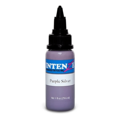 Intenze Tattoo Ink, Purple Silver