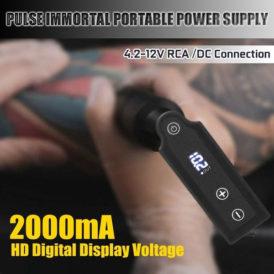 Tilt Pulse Portable Tattoo Power Supply 8