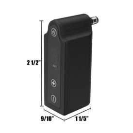 Tilt Pulse Portable Tattoo Power Supply diagram