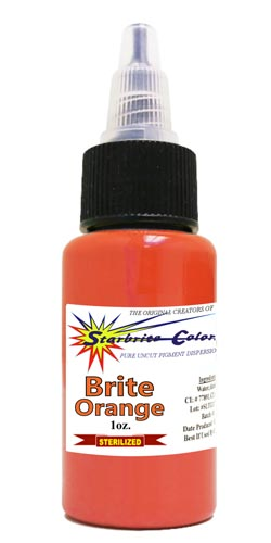 Starbrite Tattoo Ink Brite Orange