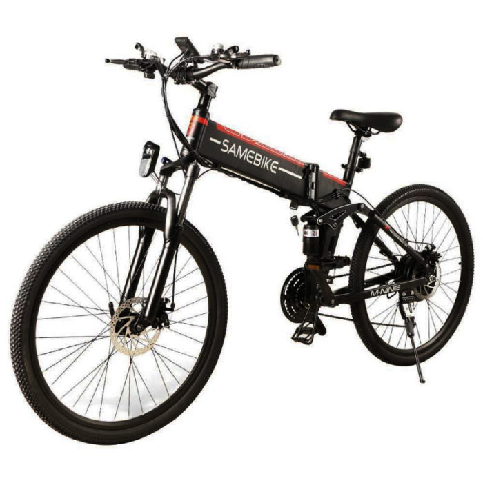 Samebike Electric Bike Black