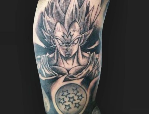 Tattoo Submission – Detailed piece of Majin Vegeta