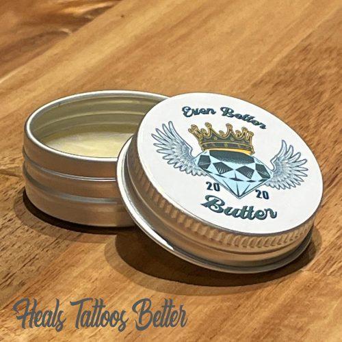 Even Better Butter Tattoo Aftercare Heals Tattoos Better