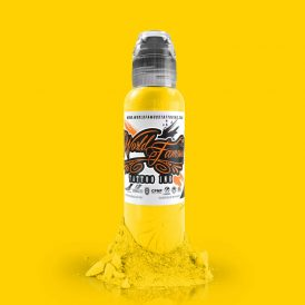 World Famous Tattoo Ink - Canary Yellow