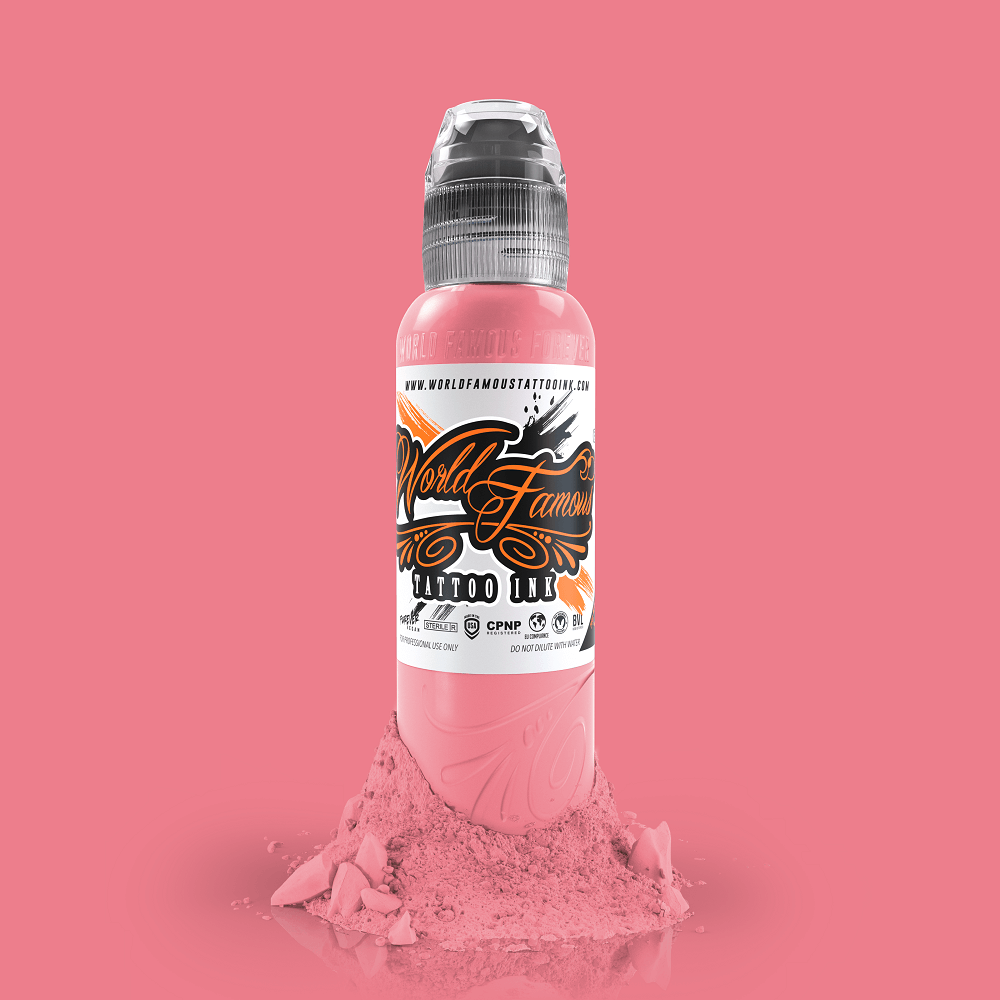 World Famous Tattoo Ink - Flying Pig Pink