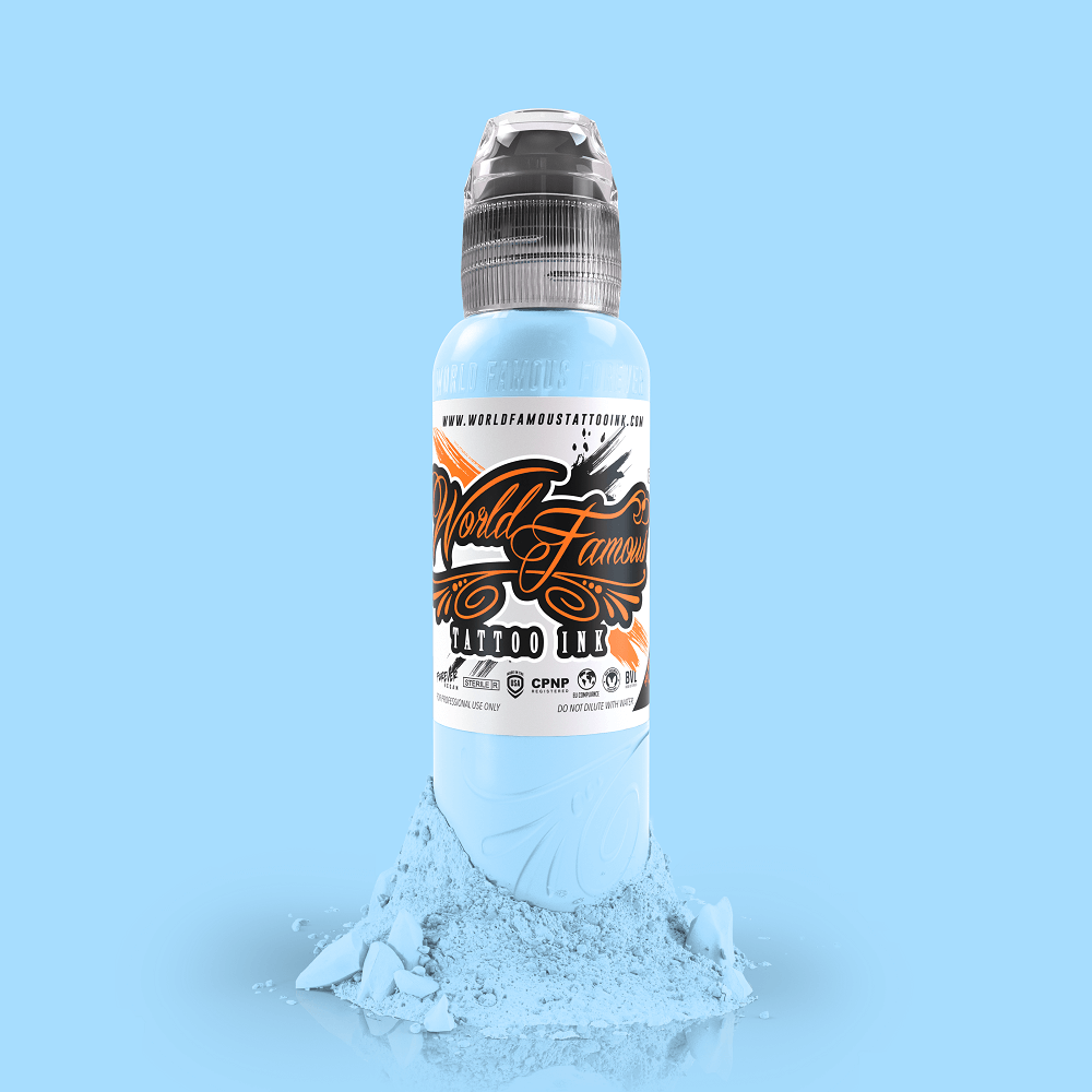 World Famous Tattoo Ink - Fountain Blue