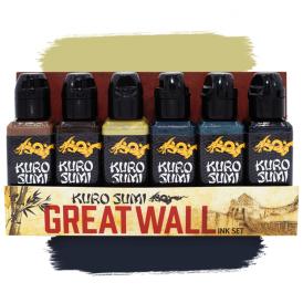 Kuro Sumi Great Wall Set 7